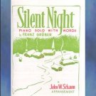 Silent Night Elementary Piano Arrangement John Schaum