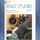 Solo Studies Book 2 Supplemental Studies For Guitar Sessions Kevin Daley