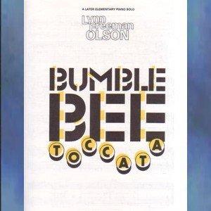 Bumblebee Toccata Piano Solo Lynn Freeman Olson NFMC Selection