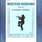 Western Hoedown Piano Solo Robert D. Vandall Myklas Press