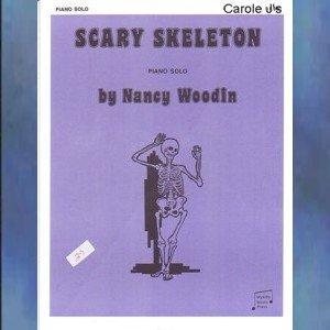 Scary Skeleton Level 1 Halloween Piano Solo