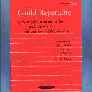 Guild Repertoire Intermediate C D Solo Piano
