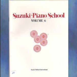 Suzuki Piano School Volume VI Dr. Shinichi Suzuki
