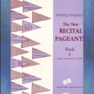 The New Recital Pageants Book 4 Donald Waxman