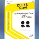 Piano Tomorrow Series Duets Now Primer Level