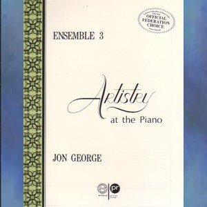 Artistry At The Piano Ensemble 3 Piano Duets Jon George