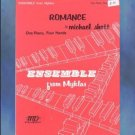 Romance 1 Piano/4 Hands Michael Shott