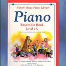Alfred's Basic Piano Library Ensemble Book 1A