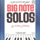 Young Pianist's First Big Note Solos Gillock Beginner Piano
