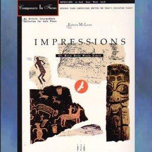 Impressions on Rock Bone Wood Earth Edwin McLean