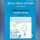 Special Things And Times Book 2 Ed McLean Solo Piano