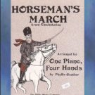 Horseman's March 1 Piano/4 Hands Khachaturian