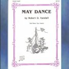 May Dance 1 Piano/4 Hands Robert Vandall