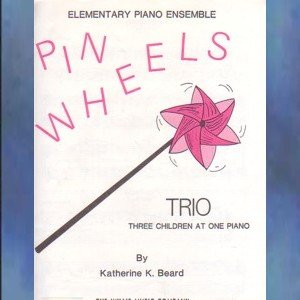 Pin Wheels 1 Piano/6 Hands Katherine Beard