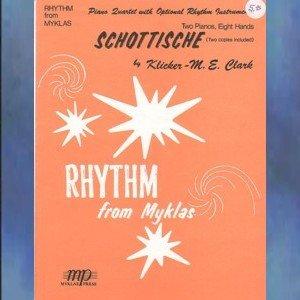 Schottische 2 Pianos/8 Hands M.E. Clark NFMC Selection