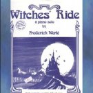 Witches' Ride Halloween Piano Solo Frederick Werle