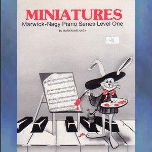 Miniatures Level One Solo Piano Maryanne Nagy
