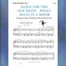 Dance Beginner's Set 1 Elementary Piano Solo arr. Mary Elizabeth Clark