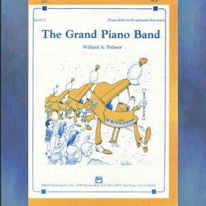 the Grand Piano Band Early Intermediate Piano Solo Willard Palmer