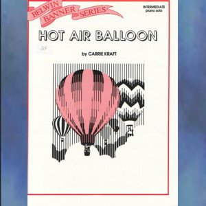 Hot Air Balloon Intermediate Piano Solo Carrie Kraft