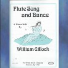 Flute Song and Dance Late Elementary Piano Solo William Gillock