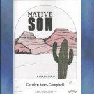 Native Son Early Intermediate Piano Solo Carolyn Jones Campbell