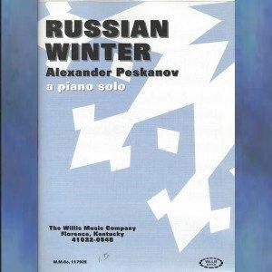 Russian Winter Early Intermediate Piano Solo Alexander Peskanov
