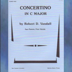 Concertino In C Major Piano Duo Vandall NFMC Selection