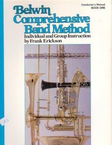 Belwin Comprehensive Band Method Book 1 Conductor