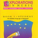 Explorations In Music Student Book 1 (Book & Cassette)  Haroutounian