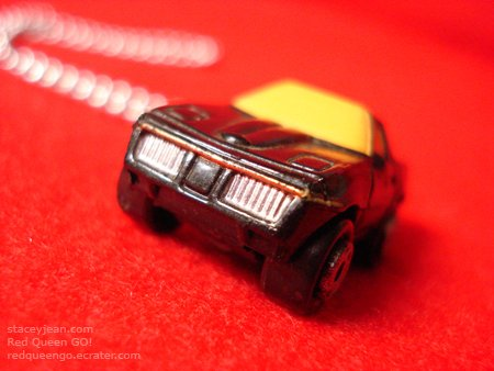 1980s Chevy Corvette : Necklace