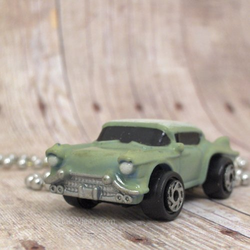 1958 Cadillac Seville : Necklace : Green