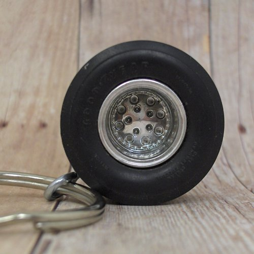 Goodyear Racing Slick - Wheel Keyring