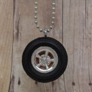 Orange : Wheel Necklace