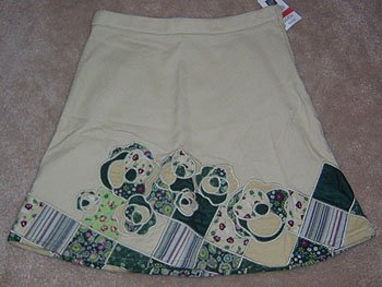 GAP Khaki Skirt Wonderful School Length Size 6 NWT