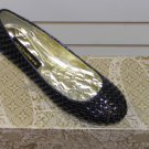 Flat  Black Shoe