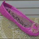 Flat Pink Shoe