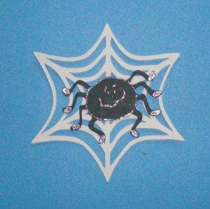 "5"" Spider and Web Die Cut"