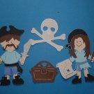 """3"""" Customized Pirate Set - 4 pcs"""