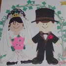 "3"" Customized Bride/Groom and Arch"