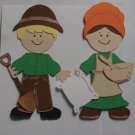 """3"""" Customized Piner Couple"""