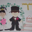 "3"" Customized Bride/Groom and Accessories"