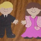 "3"" Customized Prom Couple"