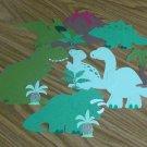 12 pc Dinosaur Die Cut Set