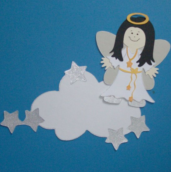 """3"""" Customized Angel and cloud"""