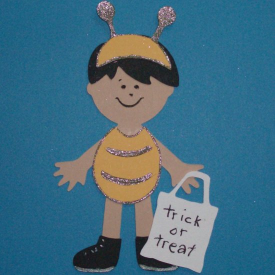 """3"""" Customized Bee Trick or Treater"""