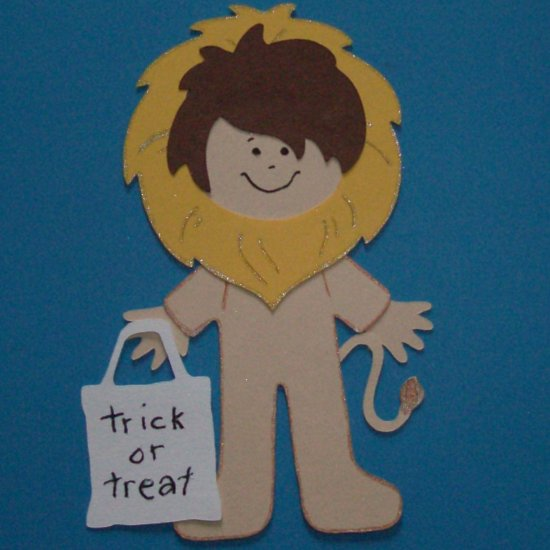 """3"""" Customized Lion Trick or Treater"""