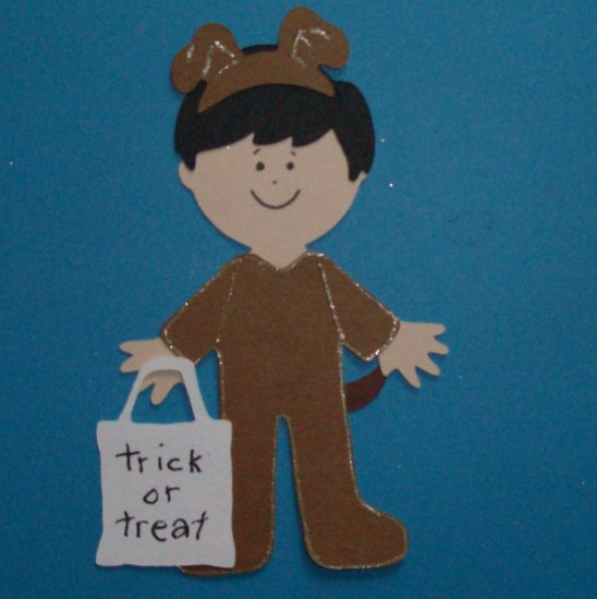 """3"""" Customized Dog Trick or Treater"""