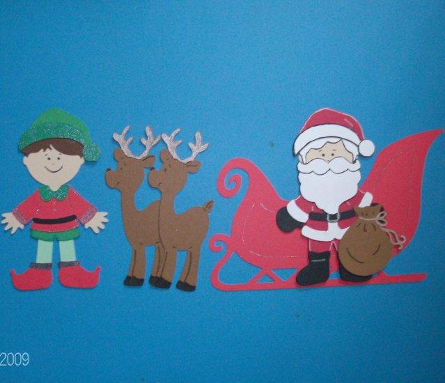 "3"" Santa Set -  5pcs"