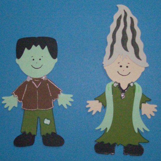 """3"""" Frankenstein and Bride"""